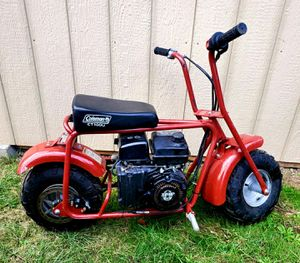 Coleman Mini Bike Recently Purchased. for Sale in Beaverton, OR