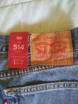 Levi's 514 Straight Jeans 34X34 NEW for Sale in St. Petersburg, FL