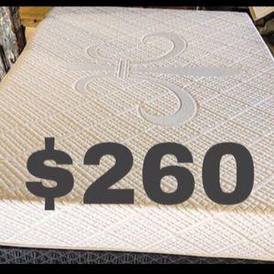 💥Brand new Blue Gel Memory Foam Mattress💥 Queen Mattress only-$260 Mattress & box spring-$320 Full Mattress only-$235 Mattress & box spring-$29 for Sale in Menifee, CA