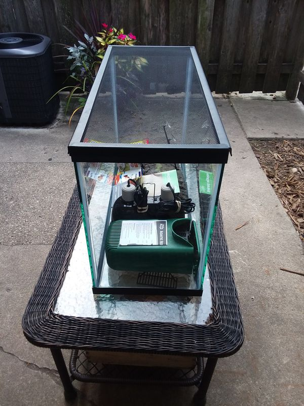 Brand new 40 gallon aquarium tank
