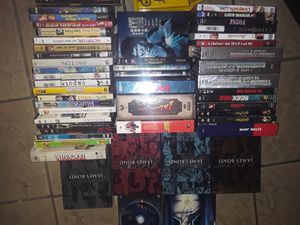 These are old times &new movies big ones with episodes 10 dollars in the one the just one in case 5 also these are new movies half not been open for Sale in Baton Rouge, LA