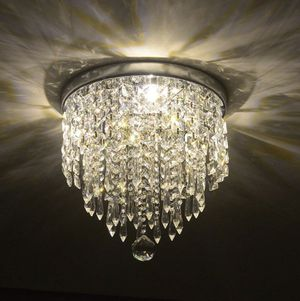 Crystal Chandelier Lighting Fixture Mount For Home Living Room - Hallway Entry and Small Areas for Sale in Denver, CO