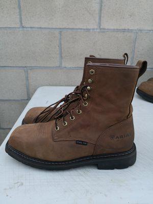 Ariat steel toe work boots size 10EE for Sale in Riverside, CA