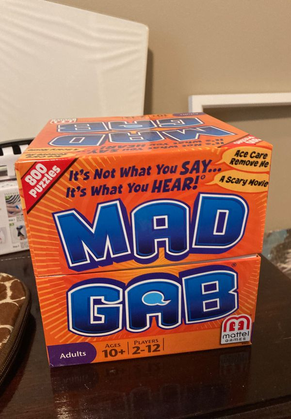 Puzzles (2) and MadGab game