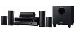 Onkyo's 5.1-channel HT-S3300 Surround Sound System for Sale in New York, NY