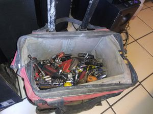 Rolling husky toolbag with tools for Sale in Stockton, CA