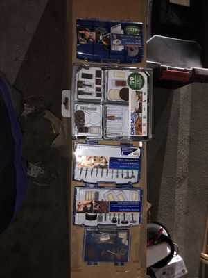 Dremel bits and accessories for Sale in Los Angeles, CA