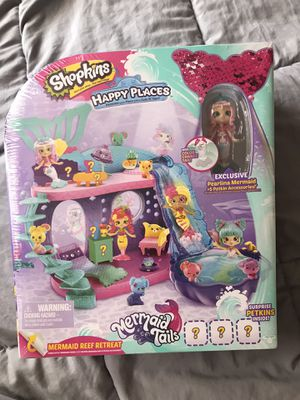 Shopkins mermaid tail palace for Sale in Philadelphia, PA