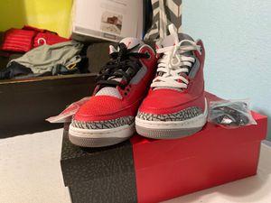 Jordan 3 unite fire 🔥 for Sale in Fresno, CA