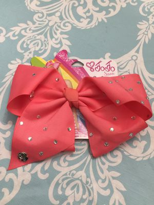 NEW JoJo Siwa big hair bow for Sale in Anaheim, CA