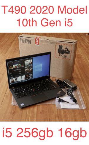 Lenovo Thinkpad T490 Laptop 16GB Ram i5 256GB 3 Yr warranty for Sale in Los Angeles, CA