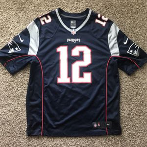 PATRIOTS Authentic NFL JERSEY - Tom Brady #12 for Sale in Costa Mesa, CA