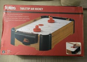 Totes Tabletop Air Hockey Table for Sale in Buffalo, NY