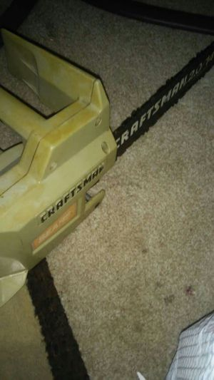 craftsman chainsaw for Sale in Riverview, MI