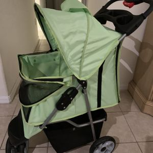 Pet Stroller Dogs Small Animals Green VIV Brand for Sale in Land O' Lakes, FL