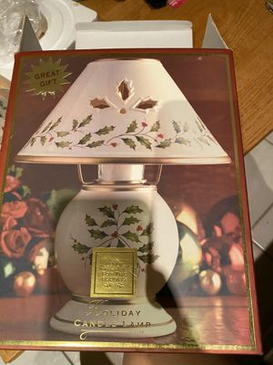 Lenox Holiday Candle Lamp for Sale in Apple Valley, CA