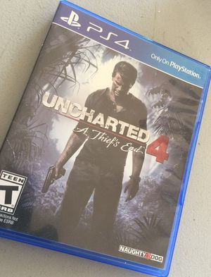 Uncharted 4 for Sale in CA, US