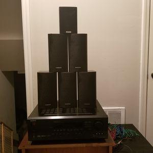 ONKYO HT-R510 6.1 Receiver and Speakers for Sale in Jonesboro, GA