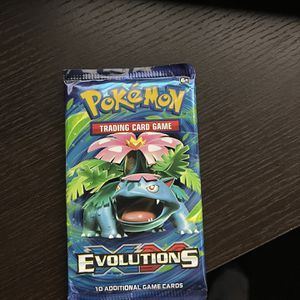 Pokemon TCG evolutions Booster Pack SEALED for Sale in Silver Spring, MD