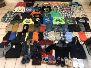 Boys toddler clothing clothes shorts jackets pants shirts for Sale in Monroe Township, NJ