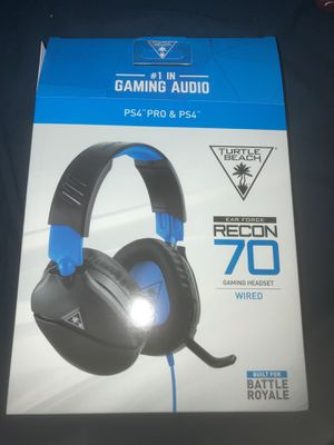Ps4 gaming headset (Turtle Beach) for Sale in Pomona, CA