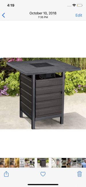 Outdoor Firepit Bistro Table for Sale in Holts Summit, MO