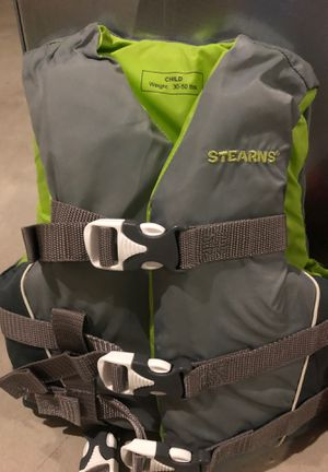 Stearns life vest for Sale in Glendale Heights, IL