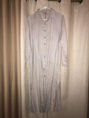 Long linen cardigan M for Sale in Fairfax, VA