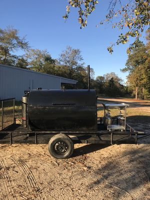 Gas BBQ pit and trailer for Sale in Batesburg, SC