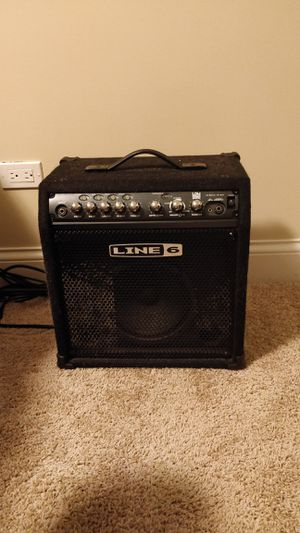 Line 6 bass guitar amp for Sale in Naperville, IL