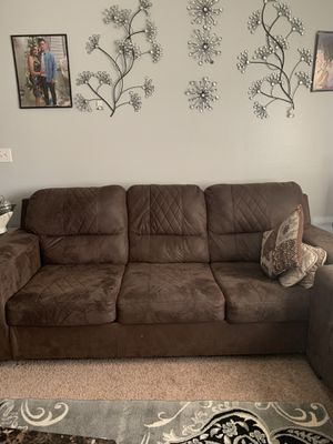 Brown Couch for Sale in Fargo, ND