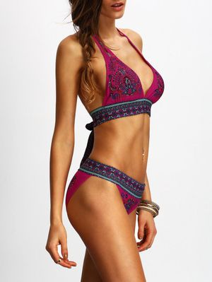 NEW! Halter Tribal Print Bikini Set - $18 OBO for Sale in Alexandria, VA