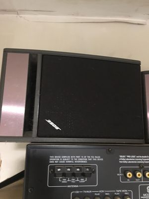 Bose bookshelf 141 speakers and receiver for Sale in Euless, TX
