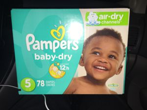 Diapers size 5 for Sale in Rialto, CA