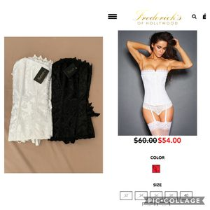 Brand New! Fredericks of Hollywood Corset size 36 (White) for Sale in Westminster, CA