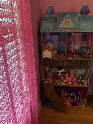 Doll house and toys for Sale in Carmichael, CA