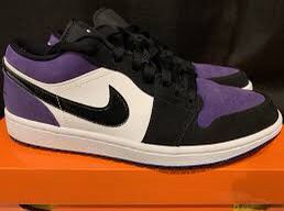 "Air Jordan 1 low ""Court Purple"" for Sale in Springdale, AR"