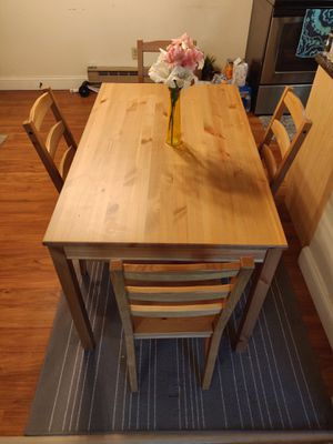 Wooden Dining Table for Sale in North Attleborough, MA