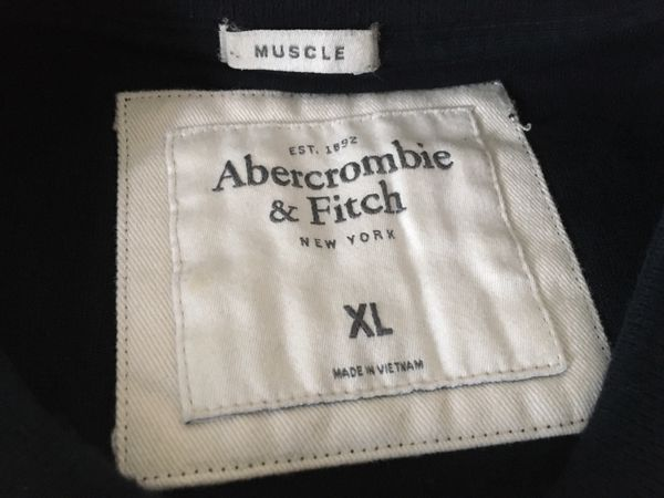 Mens Abercrombie & Fitch casual sweater shirt Size XL