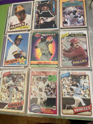 About 72 Various Baseball Cards from 60s-80s normal wear not bad shape but not Mint for Sale in Queens, NY