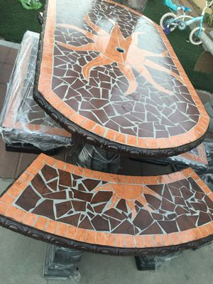 NEW Concrete Table for Sale in Redlands, CA