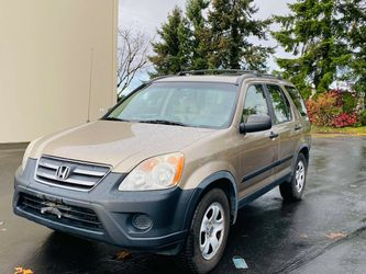 2006 Honda CRV 4WD 3 Month Warranty for Sale in Kent,  WA