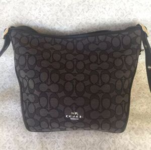 Authentic Coach Dufflette Signature Bag for Sale in New York, NY