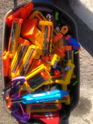 Assorted nerf guns $5 for Sale in Las Vegas, NV