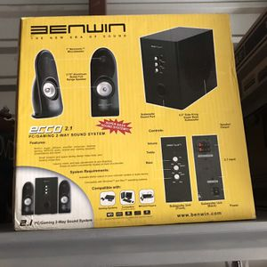 Benwin Gaming Sound System for Sale in Arcadia, CA