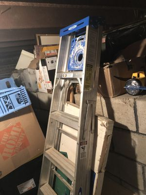 (2) Werner step ladders 6ft. for Sale in Pawtucket, RI