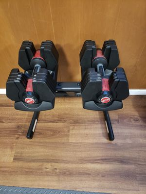 Bowflex 445 Dumbbells and Stand Kit for Sale in Renton, WA