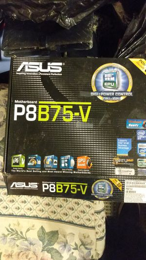 Asus p8b75-v motherboard for Sale in Seattle, WA