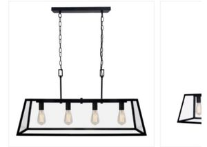 Light Fixture Kitchen Island Chandelier for Sale in Ladera Ranch, CA