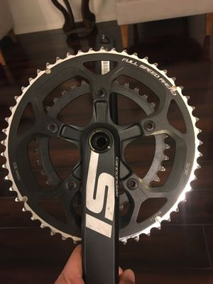 Road bike Cannondale SI crank set for Sale in Bloomington, CA